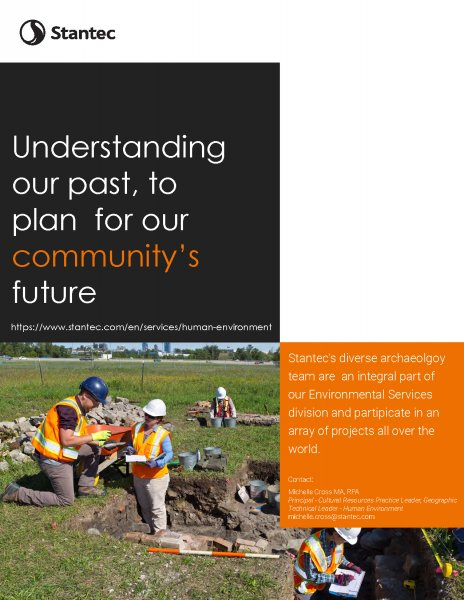 11.Stantec Full-page Archaeology Ad_version 1 (1)
