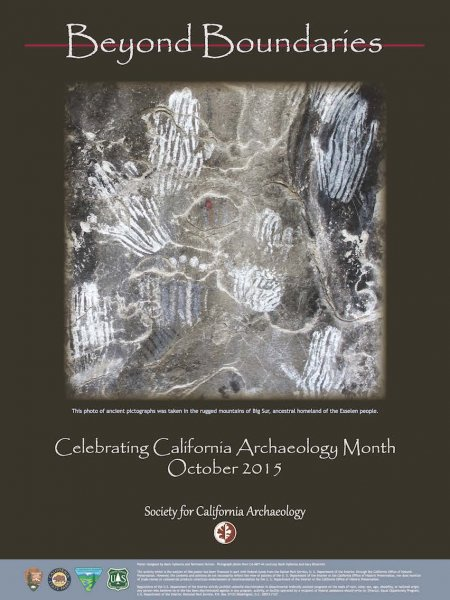 2015 Archaeology Month Poster