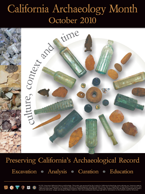 Archaeology Month Posters | Society for California Archaeology