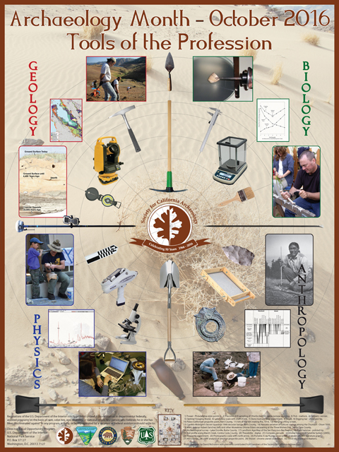 archaeology month society for california archaeology