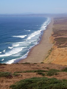 10 Mile Beach, Point Reyes National Seashore, Marin County, California. Photo courtesy of Michael Newland, 2012