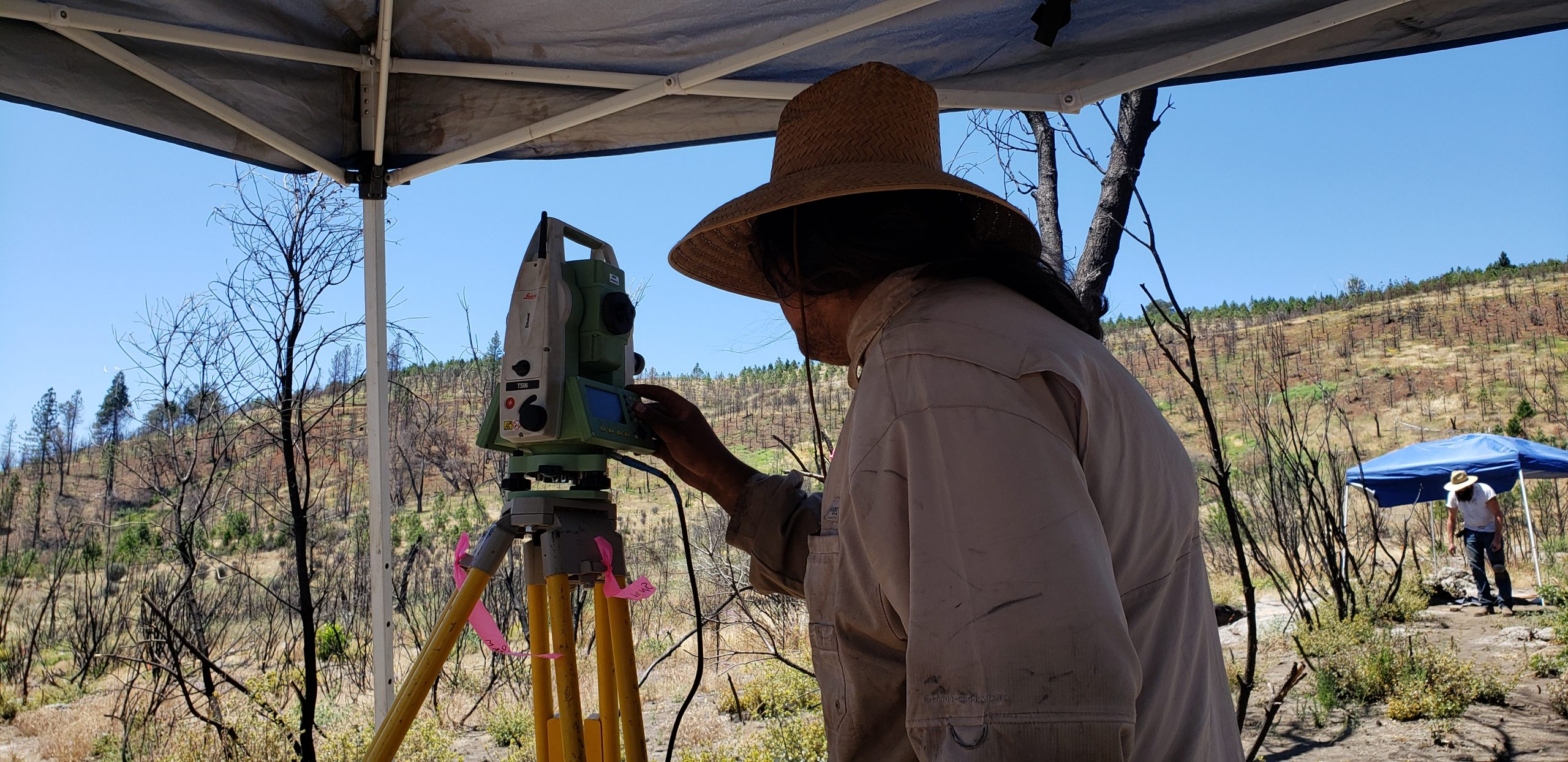 ImagePerson with a Total Station